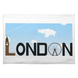 London Skyline Daytime Placemat