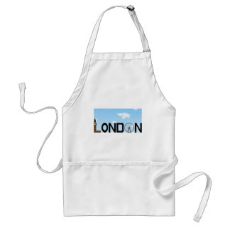 London Skyline Daytime Standard Apron