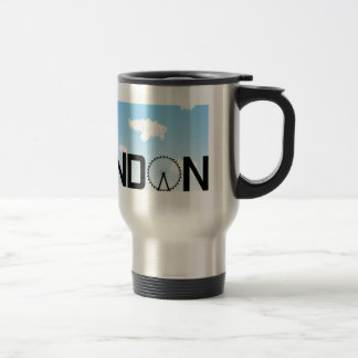 London Skyline Daytime Travel Mug