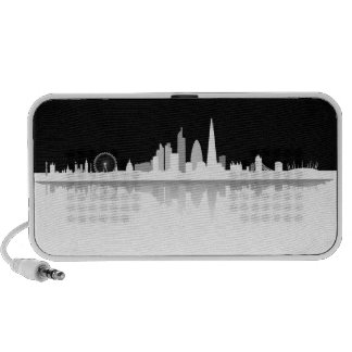 London Skyline Doodle Lautsprecher Portable Speaker