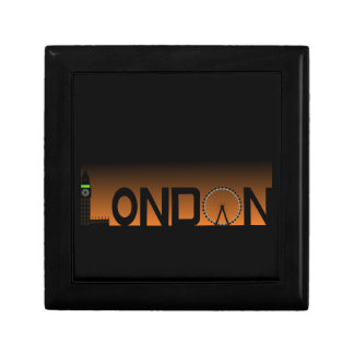 London skyline gift box