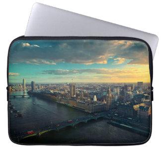 London skyline laptop sleeve