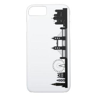 London Skyline Silhouette Phone or Tablet Case