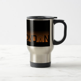 London skyline travel mug
