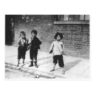 London Slums Postcard