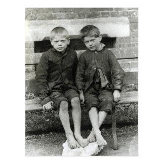 London Slums, The Boys Postcard