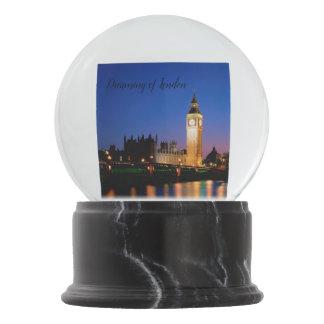 London Snow Globe  (Night scene)