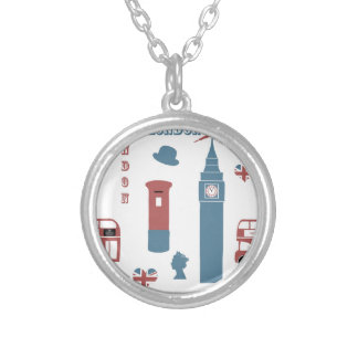 London Special Silver Plated Necklace