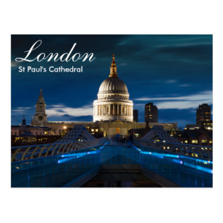London - St Paul's Cathedral postcard
