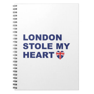 London Stole My Heart Notebooks