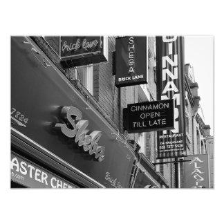 London Stores Photo Art