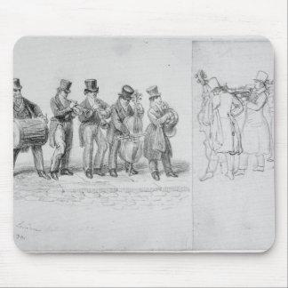 London Street Musicians, c.1820-30 Mousepads
