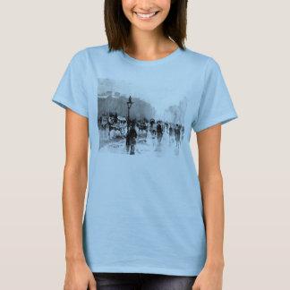 London Street Scene 1885 T-Shirt