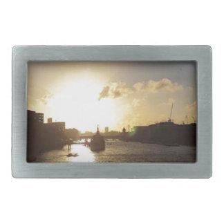 London Sunset Belt Buckle