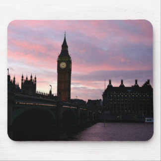 London Sunset Mouse Pad