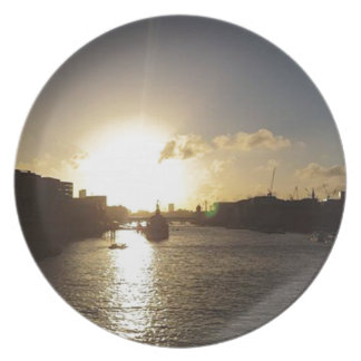 London Sunset Plate