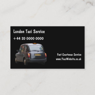 London taxi business cards zazzle au london taxi business cards reheart Image collections
