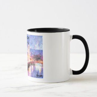 London tea time mug