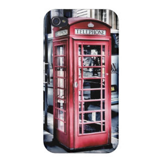 London Telephone Booth iPhone Case iPhone 4/4S Case