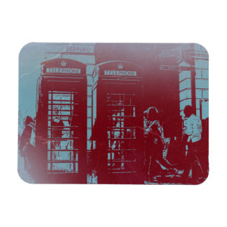 London Telephone Booth Flexible Magnet