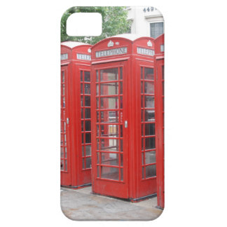 London Telephone Booths Cell Phone Case iPhone 5 Case