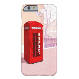 London Telephone box Barely There iPhone 6 Case