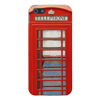 London Telephone Box iPhone 5/5S Covers