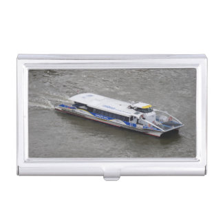 London Thames Cruise Boat Business Card Holder