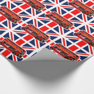 London Themed Wrapping Paper