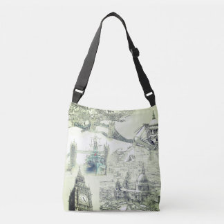 London Tote Bag - Five Icons of London