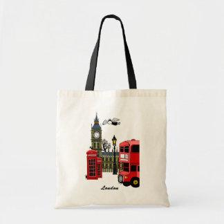 London Tote Budget Tote Bag