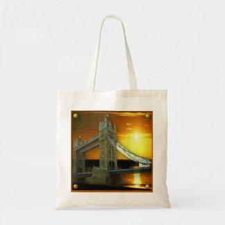 London Tower Bridge Canvas Bags