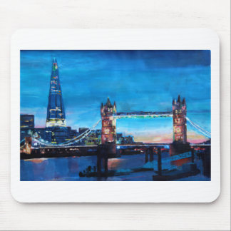 London Tower Bridge with The Shard Mouse Pads