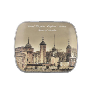 London  -Tower of London Candy Tin