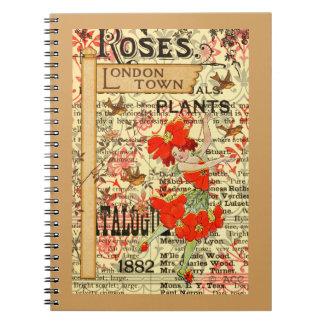 London Town Plants Spiral Notebook