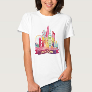 London - Travel to the famous Landmarks Shirts