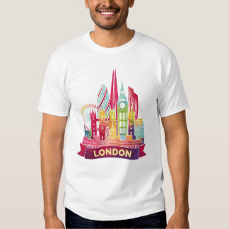 London - Travel to the famous Landmarks Tshirt