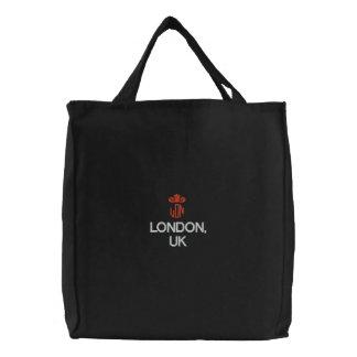LONDON, UK EMBROIDERED BAG