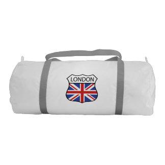 London UK Flag. Gym Duffel Bag