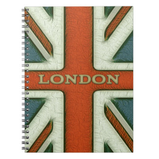 London UK Flag Note Book