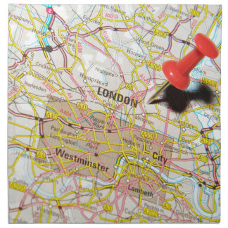 London UK Napkin