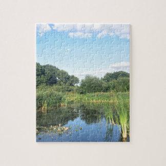 London - UK Pond Jigsaw Puzzle