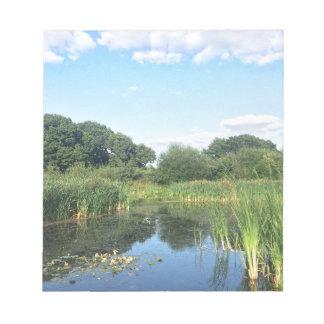 London - UK Pond Notepad