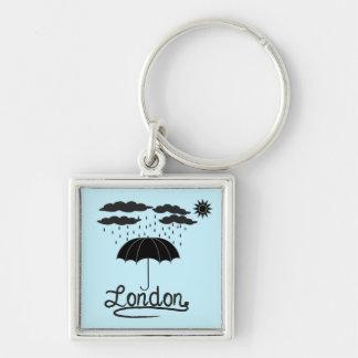 London | Under An Umbrella Key Ring