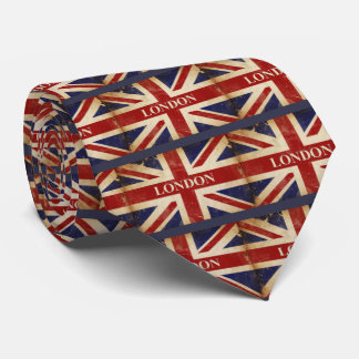 London - Union Jack - I Love London Tie