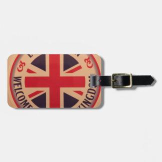 London - Union Jack - Welcome to United Kingdom Luggage Tag