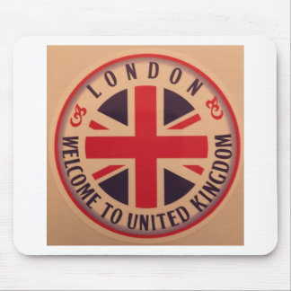 London - Union Jack - Welcome to United Kingdom Mouse Pad