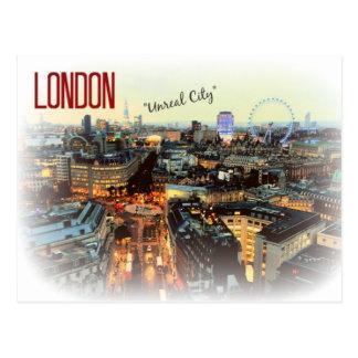 "London ""Unreal City"" Eliot Postcard"