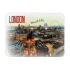 """London: """"Unreal City""""--T.S. Eliot magnet"""