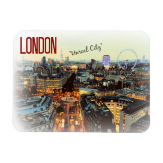 "London: ""Unreal City""--T.S. Eliot magnet"